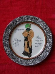ROYAL DOULTON HAND PAINTED ANTQUE ENGLAND