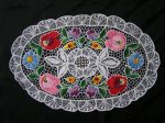 Riselt colorful tablecloth from Kalocsa